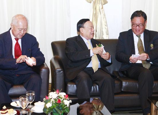 商会主席与泰国副总理
