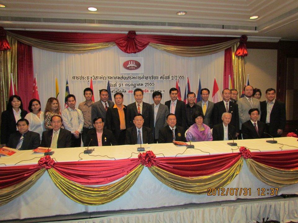 2012中国东盟商品展新闻发布会现场