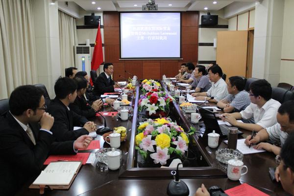 东盟国际贸易投资商会拜会湖南商务厅