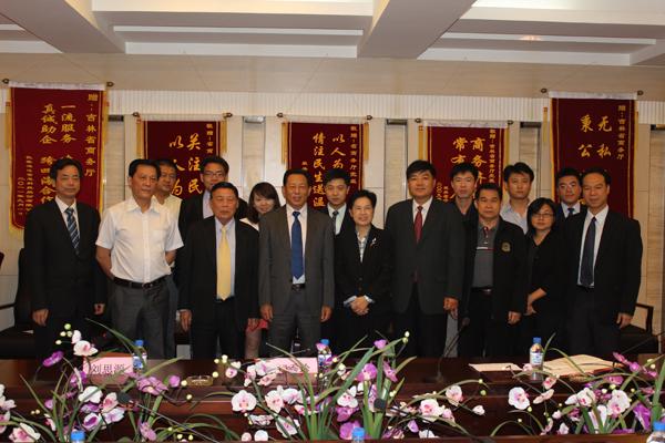 东盟国际贸易投资商会拜会吉林商务厅