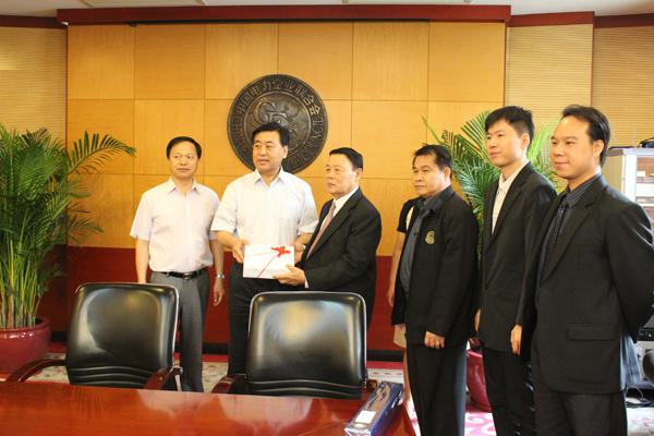 我会领导拜会中国电力企业联合会