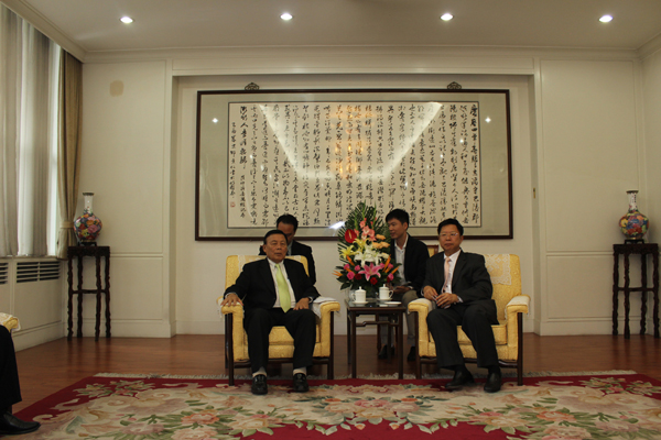我会领导拜会中国贸易促进委员会