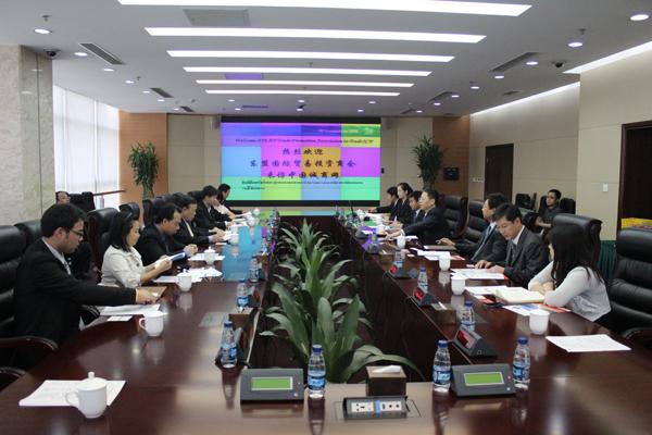 我会领导拜会中国商务部中国诚商网