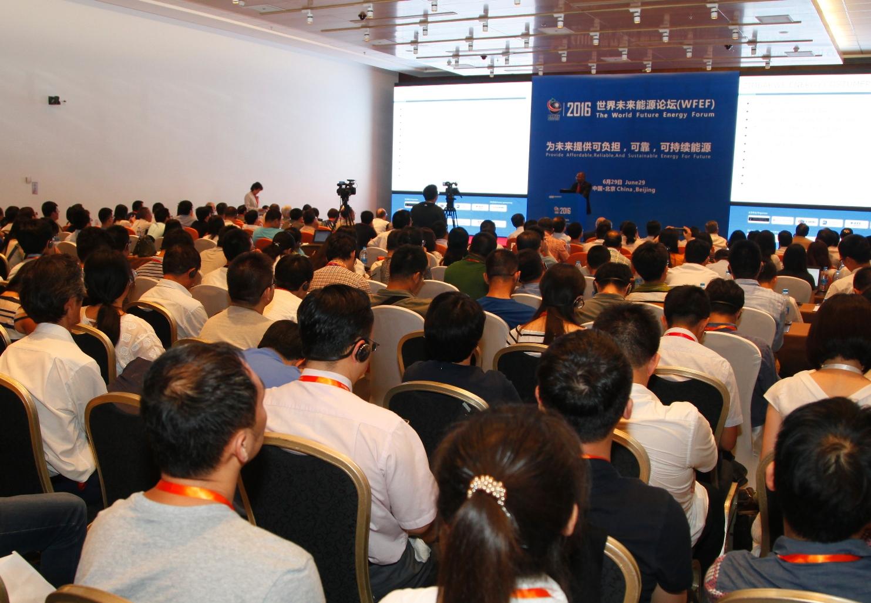 The World Future Energy Forum (WFEF) 2016