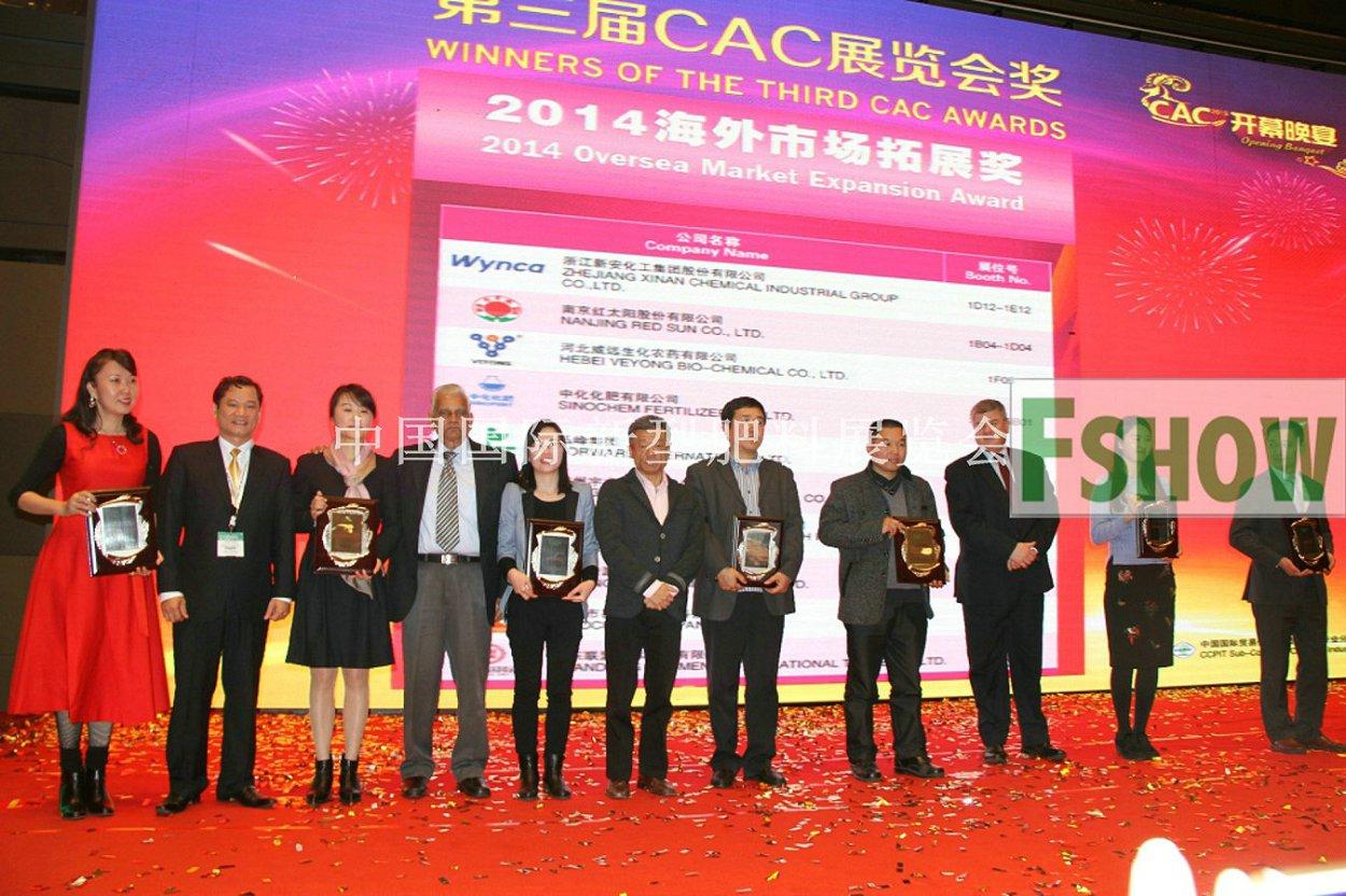 CAC海外市场拓展奖